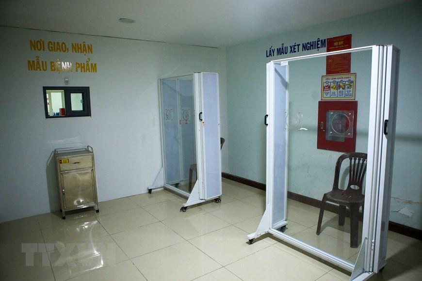 Bệnh viện dã chiến Cung thể thao Tiên Sơn tại Đà Nẵng Ảnh 12