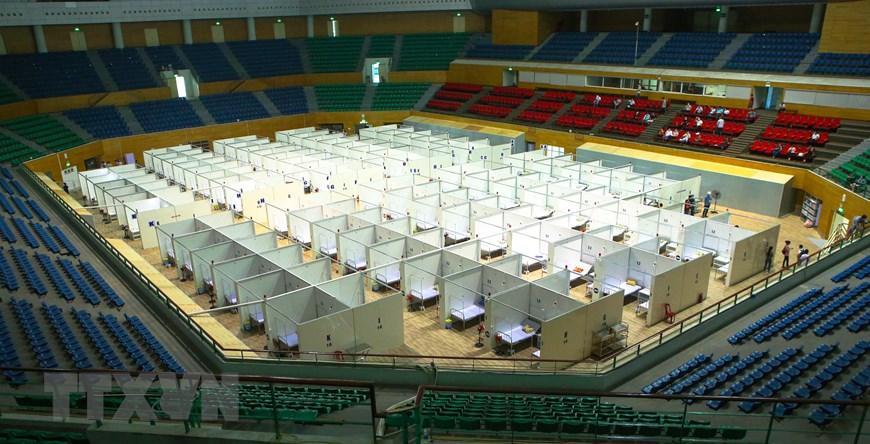 Bệnh viện dã chiến Cung thể thao Tiên Sơn tại Đà Nẵng Ảnh 8