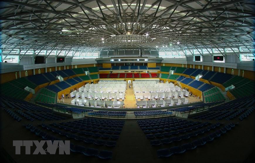 Bệnh viện dã chiến Cung thể thao Tiên Sơn tại Đà Nẵng Ảnh 1