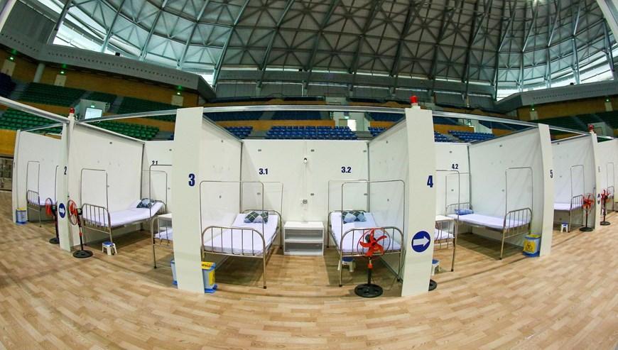 Bệnh viện dã chiến Cung thể thao Tiên Sơn tại Đà Nẵng Ảnh 5