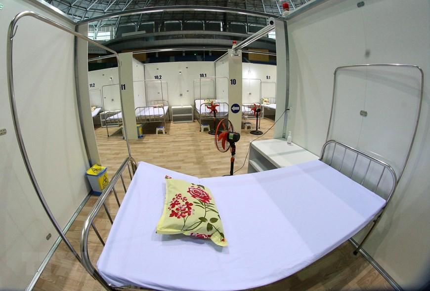 Bệnh viện dã chiến Cung thể thao Tiên Sơn tại Đà Nẵng Ảnh 3