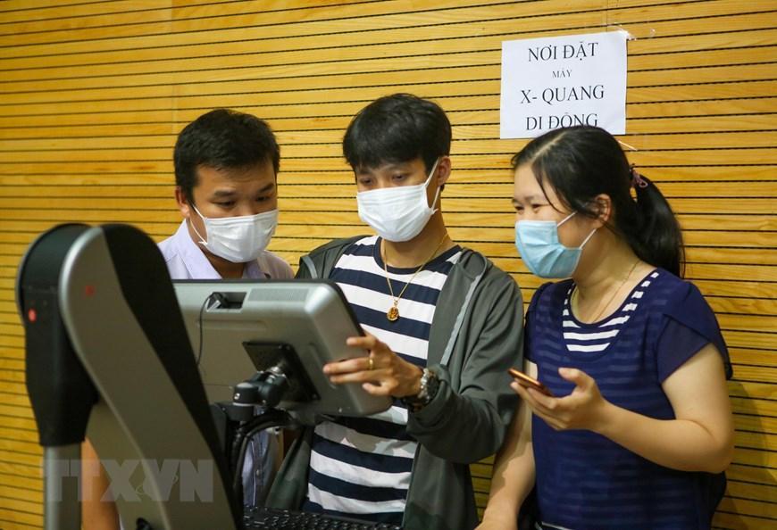 Bệnh viện dã chiến Cung thể thao Tiên Sơn tại Đà Nẵng Ảnh 10
