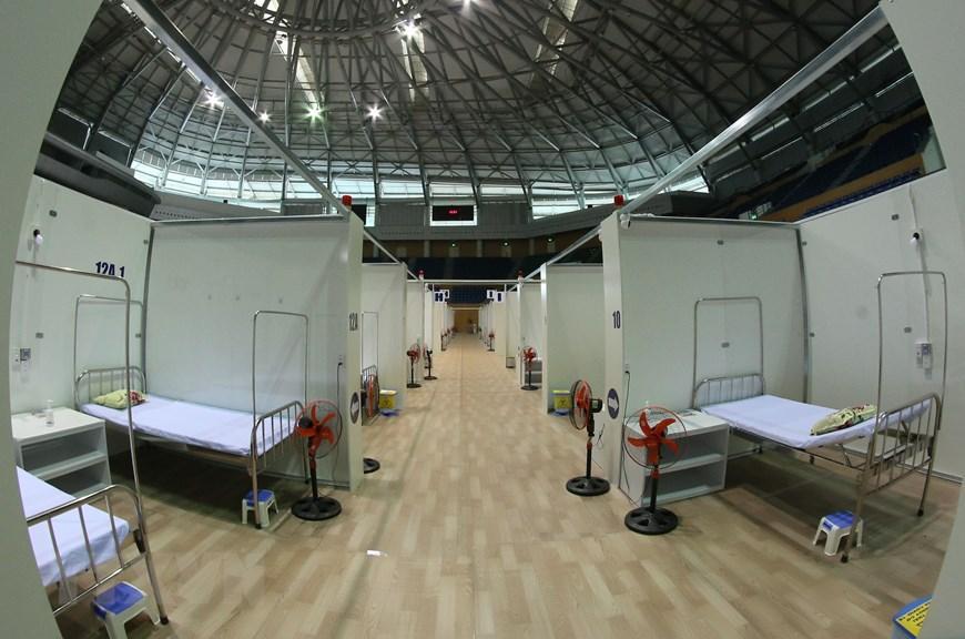 Bệnh viện dã chiến Cung thể thao Tiên Sơn tại Đà Nẵng Ảnh 2