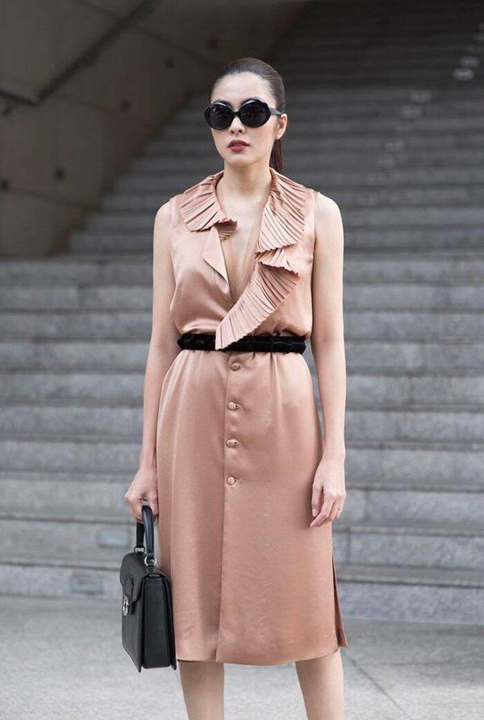 Hà Tăng mặc gì cũng đẹp, chỉ riêng kiểu đồ đơn giản này là lộ hết khuyết điểm Ảnh 5