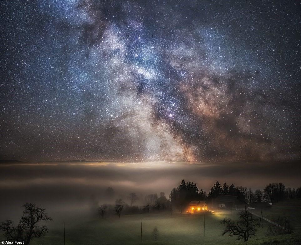 Chiêm ngưỡng vẻ đẹp mê hồn bầu trời đêm đầy sao ở Thụy Sĩ Ảnh 15