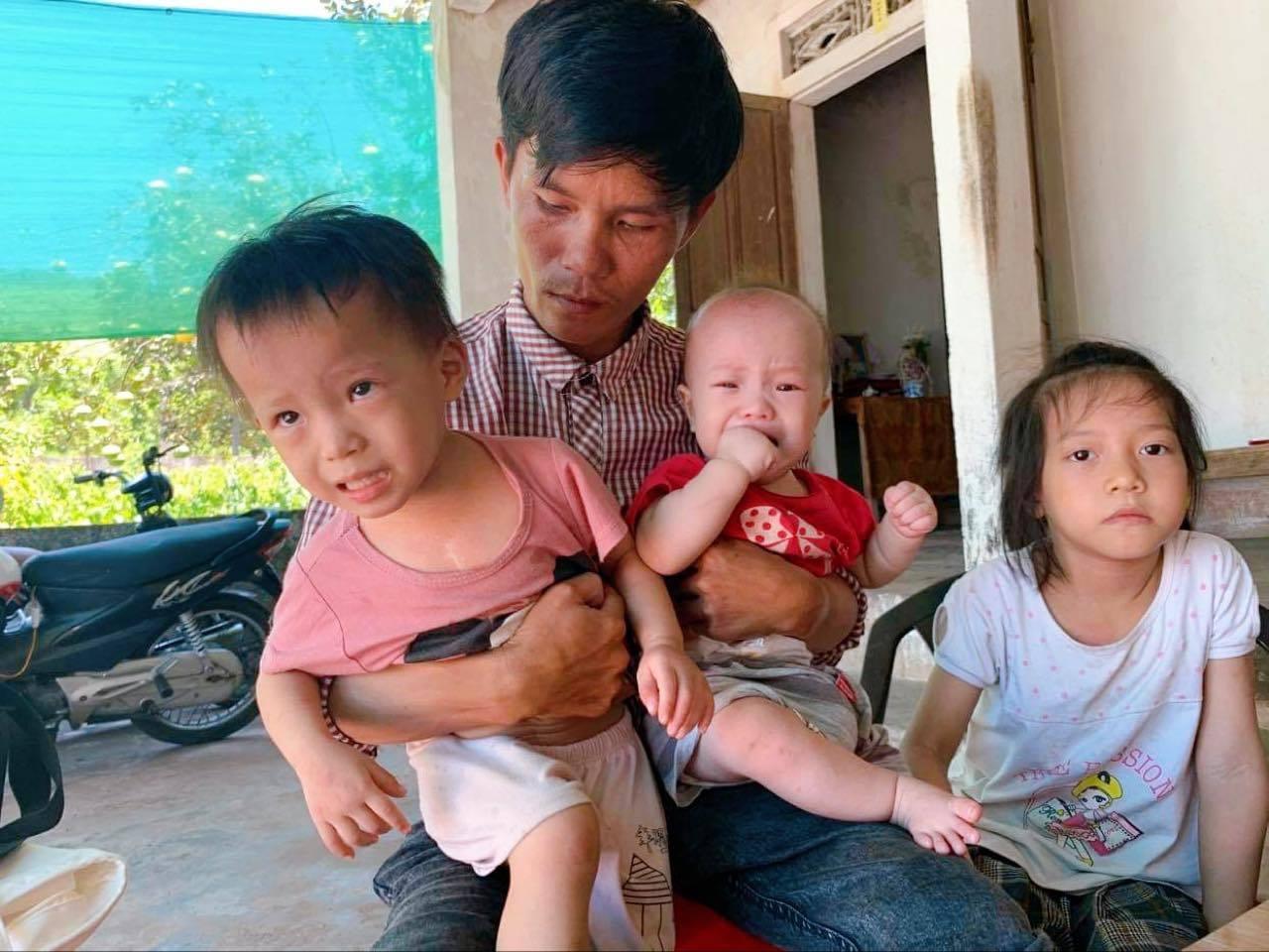 Cảnh ngặt nghèo của người cha xe ôm có nhiều con cần mổ tim gấp Ảnh 1