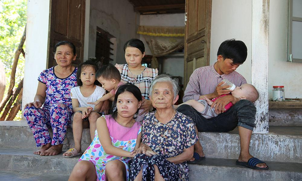 Cảnh ngặt nghèo của người cha xe ôm có nhiều con cần mổ tim gấp Ảnh 7