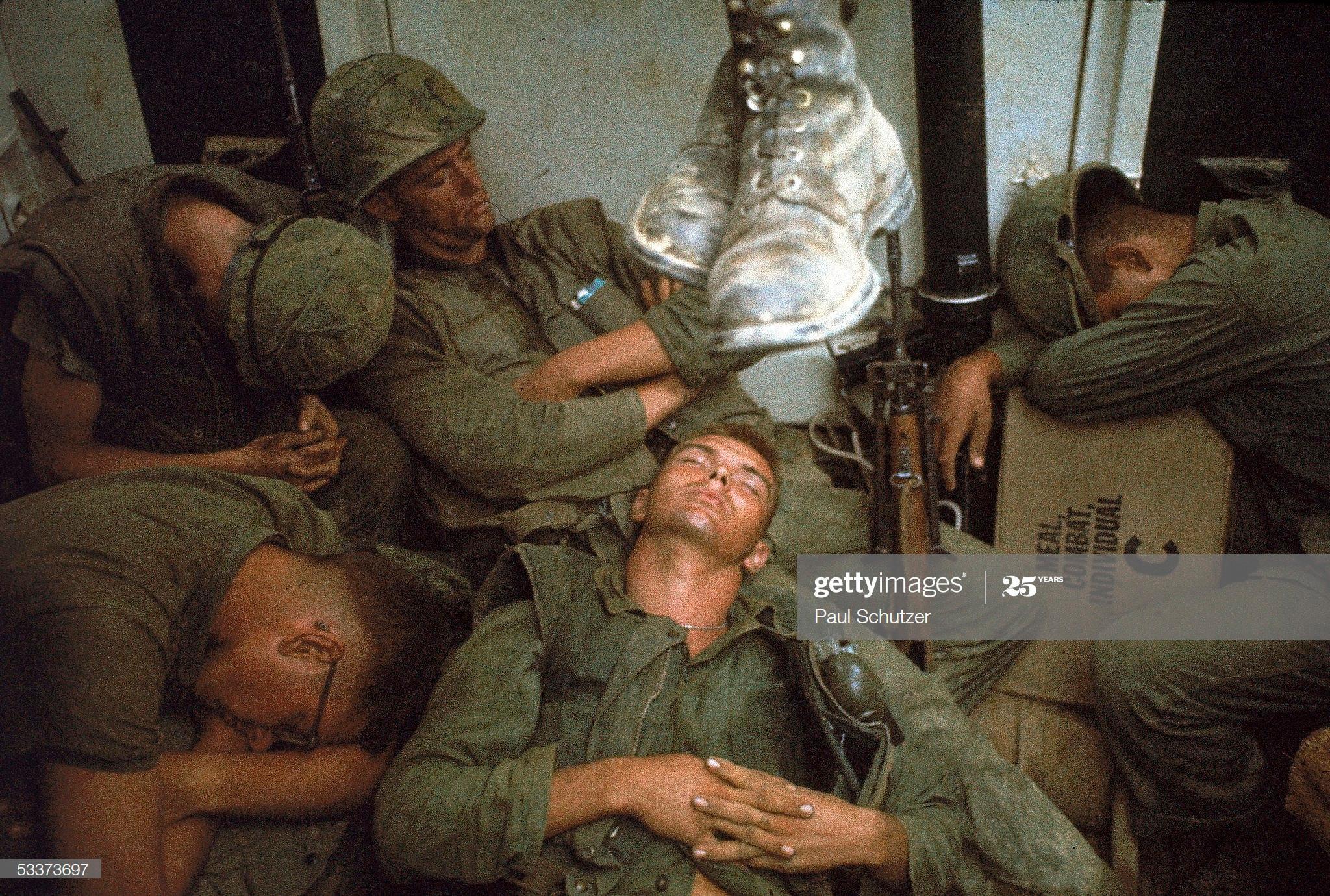 Ảnh độc: Giấc ngủ của lính Mỹ trong chiến tranh Việt Nam Ảnh 1