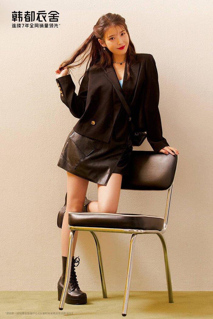 IU trở thành giám đốc thời trang kiêm mẫu đại diện cho nhà mốt hàng đầu Trung Quốc Ảnh 7