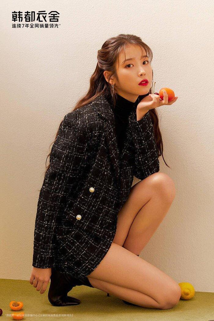 IU trở thành giám đốc thời trang kiêm mẫu đại diện cho nhà mốt hàng đầu Trung Quốc Ảnh 6