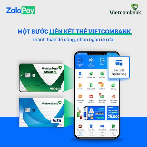 Ra mắt dịch vụ nạp, rút ví điện tử ZaloPay sử dụng thẻ ghi nợ Vietcombank Ảnh 1