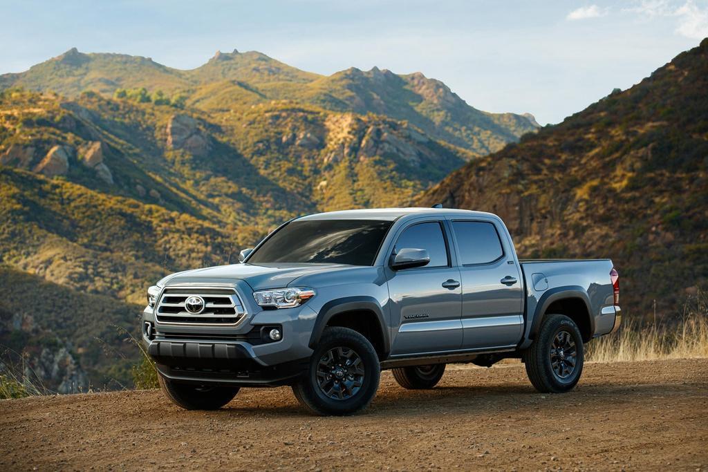 Bán tải Toyota Tacoma 2021 ra mắt, giá từ 26.150 USD Ảnh 5