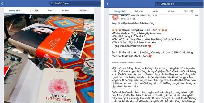 Fanpage Mabo Bookstore bán sách lậu? Ảnh 3