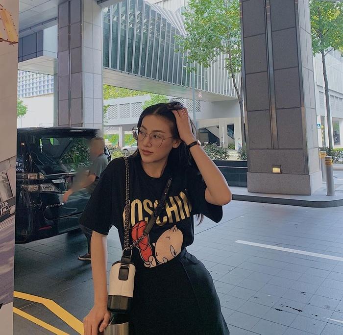 Khánh Vân - Kim Duyên 'bật chế độ ngầu', cuốn hút với streetstyle cá tính Ảnh 14