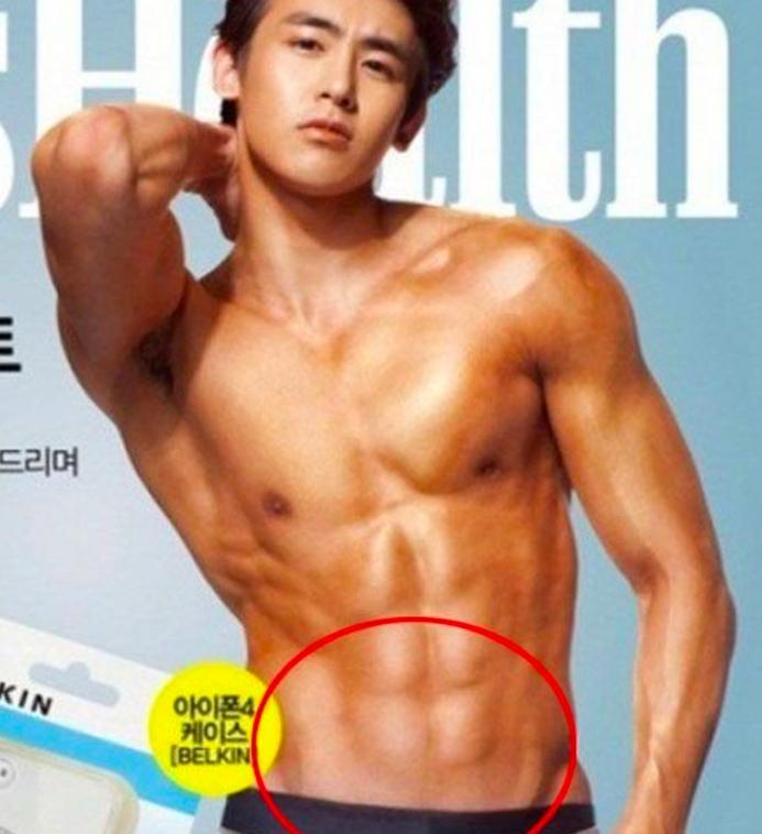 Những sự cố Photoshop khiến sao Hàn cũng té ngửa Ảnh 9