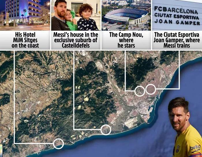 Rời Barcelona, Messi sẽ phải tạm chia tay cuộc sống của một ông hoàng Ảnh 1