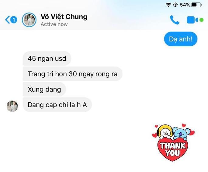 Sốc với chiếc áo dài giá 1 tỉ đồng của nhà thiết kế Võ Việt Chung Ảnh 4