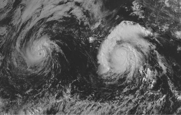 Bão chồng bão và hiện tượng kì thú mang tên Fujiwhara Ảnh 1