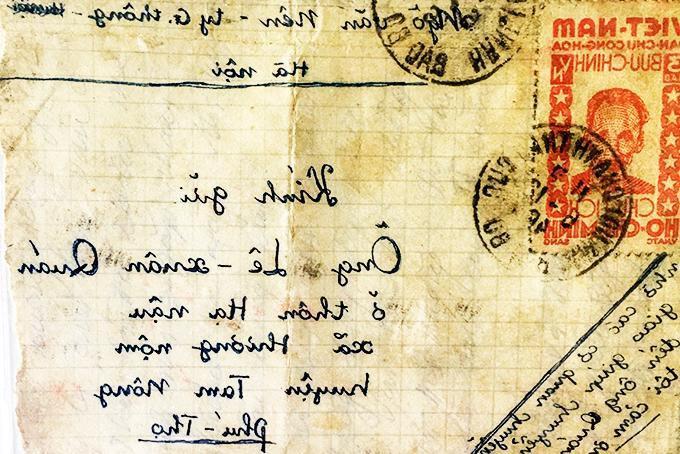 Tem kỷ niệm ngày 2-9-1946 trên bì thư thực gửi Ảnh 1