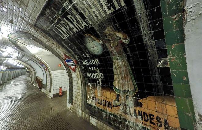 Những công trình ngầm bỏ hoang nổi tiếng Ảnh 4