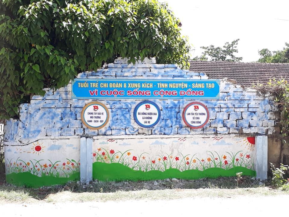 Cận cảnh những mảng tường 'biết nói' của chiến sỹ tình nguyện hè Ảnh 10