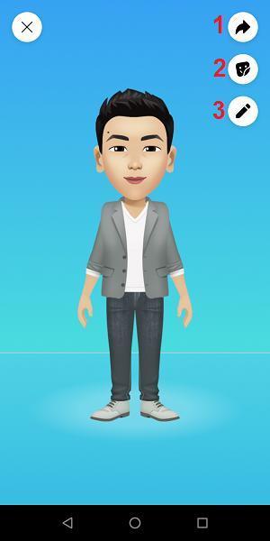 Hướng dẫn tạo Facebook Avatar phiên bản hoạt hình của chính bạn Ảnh 9