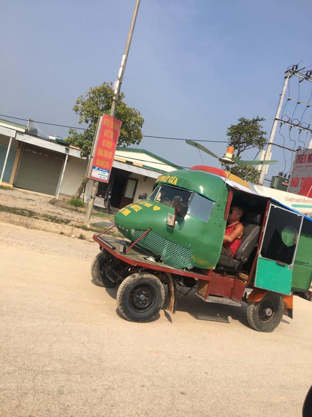Người Việt lắp đầu máy bay lên xe tự chế, cư dân mạng tán thưởng: 'Đây là chuyên cơ mặt đất' Ảnh 2