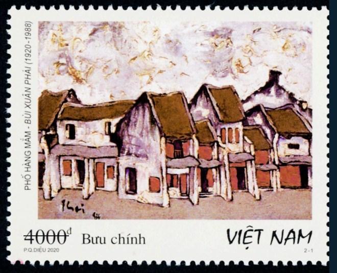 Phát hành tem về phố cổ Hà Nội Ảnh 1