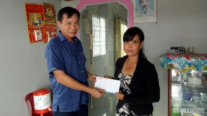 Báo Giao thông trao tặng nhà tình thương 4 gia đình nạn nhân TNGT ở Cà Mau Ảnh 2