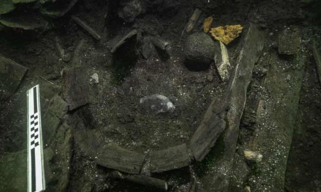 Tìm thấy cá tầm dài 2 m trên tàu đắm hơn 500 năm Ảnh 1