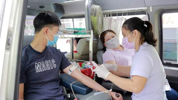 Hơn 200 đoàn viên tham gia hiến máu tình nguyện Ảnh 1