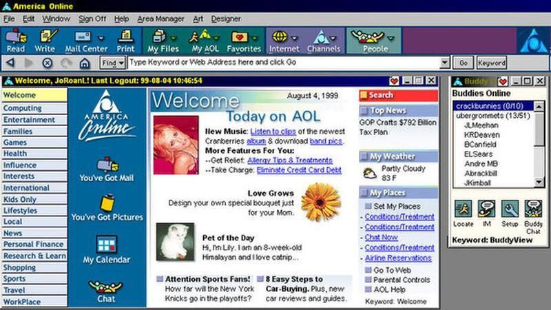 Xếp hạng các website nổi tiếng nhất thế giới từ năm 1993 đến nay Ảnh 1