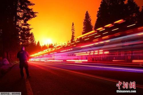 Chùm ảnh: Thảm họa cháy rừng ở California, diện tích rừng bị phá hủy bằng 10 thành phố New York Ảnh 2