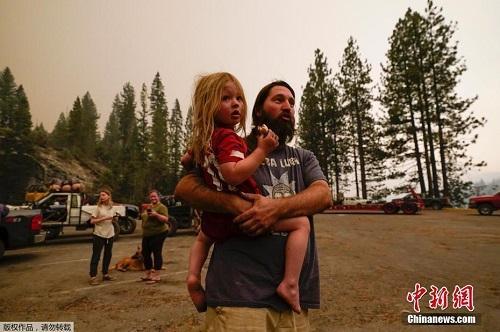 Chùm ảnh: Thảm họa cháy rừng ở California, diện tích rừng bị phá hủy bằng 10 thành phố New York Ảnh 4