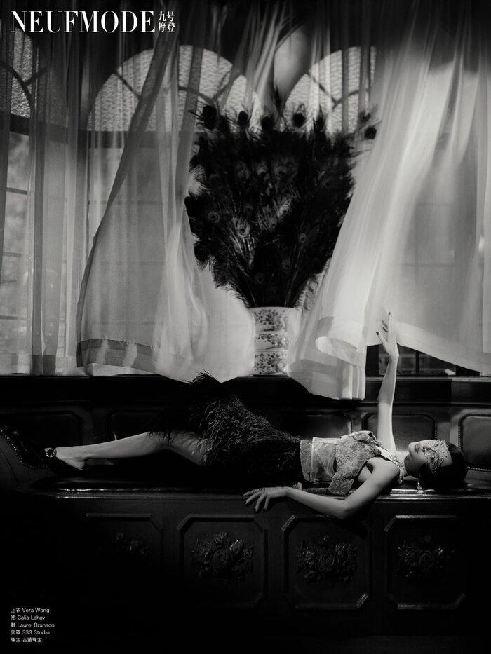 Angelababy đem thời trang thập niên 1920 xa hoa và diễm lệ vào bộ ảnh mới khiến fan đắm say Ảnh 7