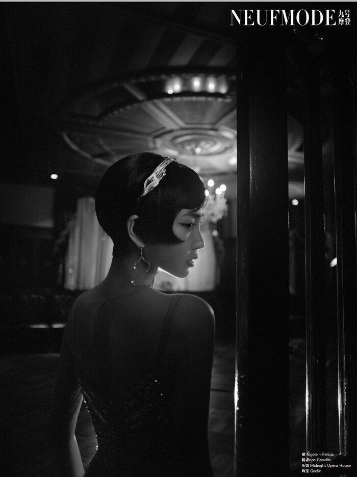Angelababy đem thời trang thập niên 1920 xa hoa và diễm lệ vào bộ ảnh mới khiến fan đắm say Ảnh 6