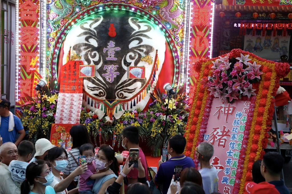 Lễ hội rước 'lợn thần' gây tranh cãi ở Đài Loan Ảnh 7