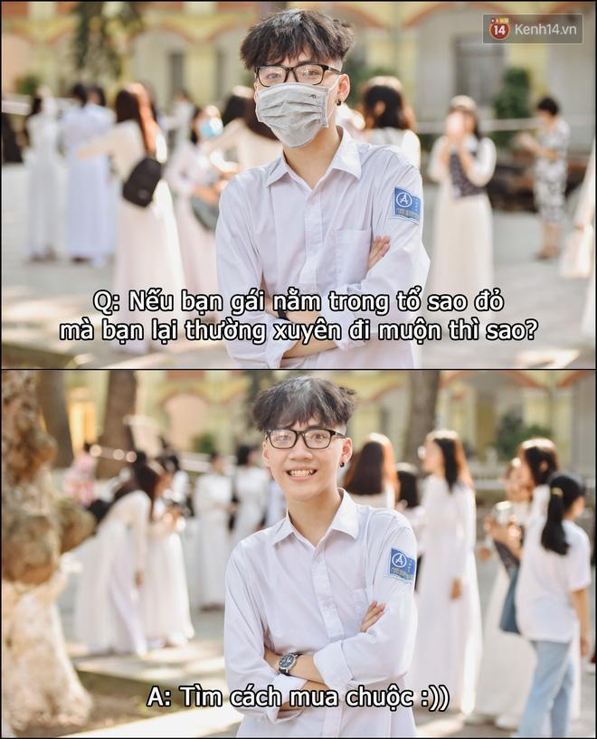 Tám nhanh với trai xinh gái đẹp THPT Phan Đình Phùng (Hà Nội), độ mặn mà đứng thứ mấy trong các trường đây? Ảnh 9