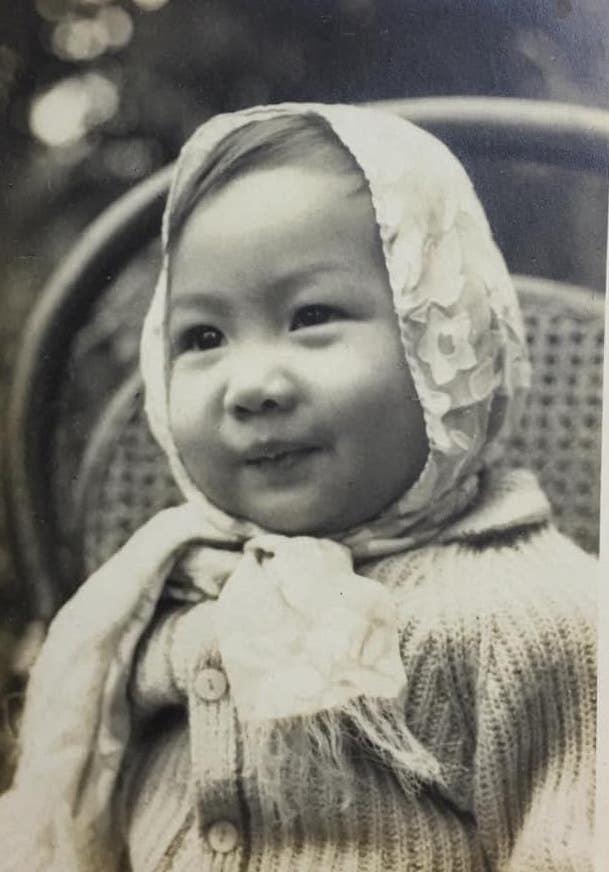 Ảnh thời thơ ấu của diễn viên Hiền Mai Ảnh 1