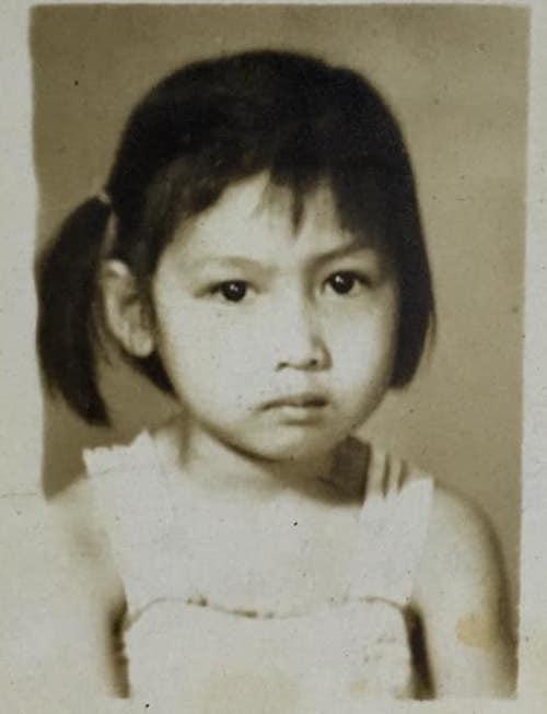 Ảnh thời thơ ấu của diễn viên Hiền Mai Ảnh 2