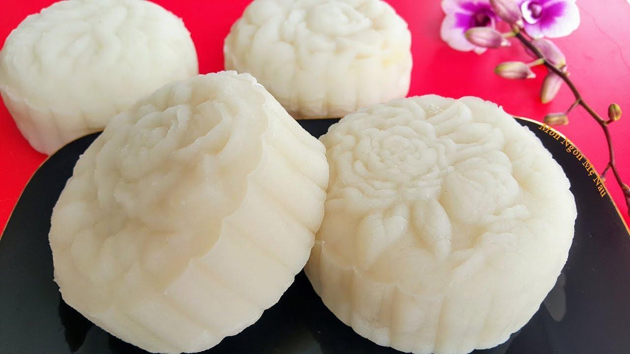 Cách làm bánh Trung thu dẻo nhân đậu xanh truyền thống thơm ngon Ảnh 1