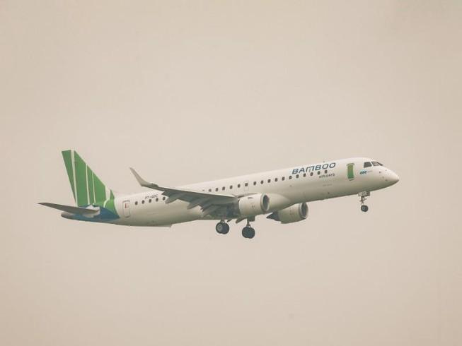 Bamboo Airways đón máy bay phản lực Embraer E195 đầu tiên Ảnh 1