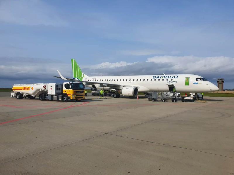 Bamboo Airways đón máy bay phản lực Embraer E195 đầu tiên Ảnh 2