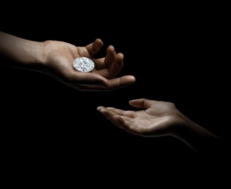 Viên kim cương 102,39 carat có thể được đấu giá 700 tỉ đồng Ảnh 3