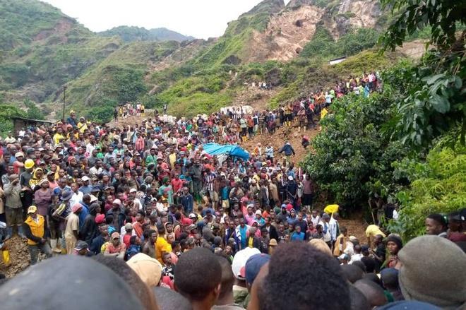 Sập mỏ vàng ở Congo, ít nhất 50 người chết Ảnh 1