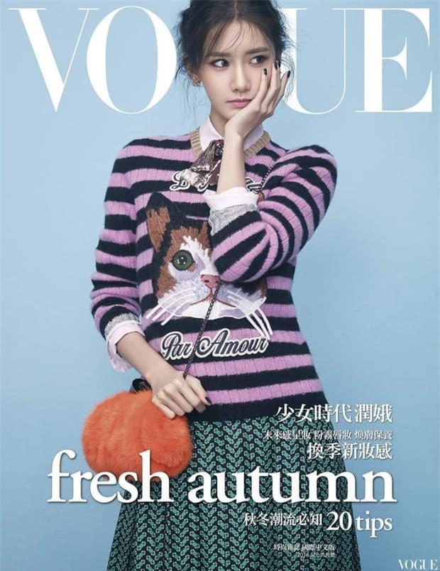 Yoona 'lồng lộn' lên 7 bìa tạp chí, nhưng fan 'la ó' vì đôi mắt 'trừng trừng' đánh bay vẻ đẹp 'nữ thần' Ảnh 7