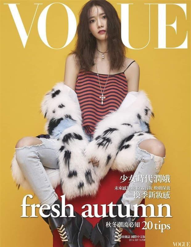 Yoona 'lồng lộn' lên 7 bìa tạp chí, nhưng fan 'la ó' vì đôi mắt 'trừng trừng' đánh bay vẻ đẹp 'nữ thần' Ảnh 5