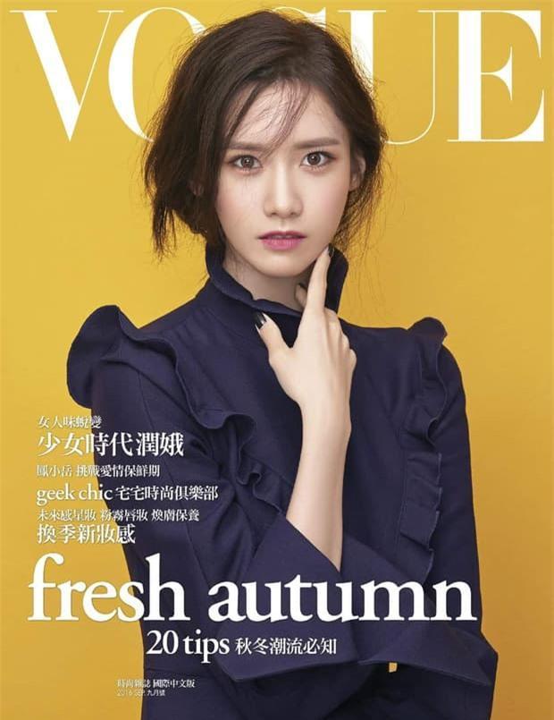 Yoona 'lồng lộn' lên 7 bìa tạp chí, nhưng fan 'la ó' vì đôi mắt 'trừng trừng' đánh bay vẻ đẹp 'nữ thần' Ảnh 4