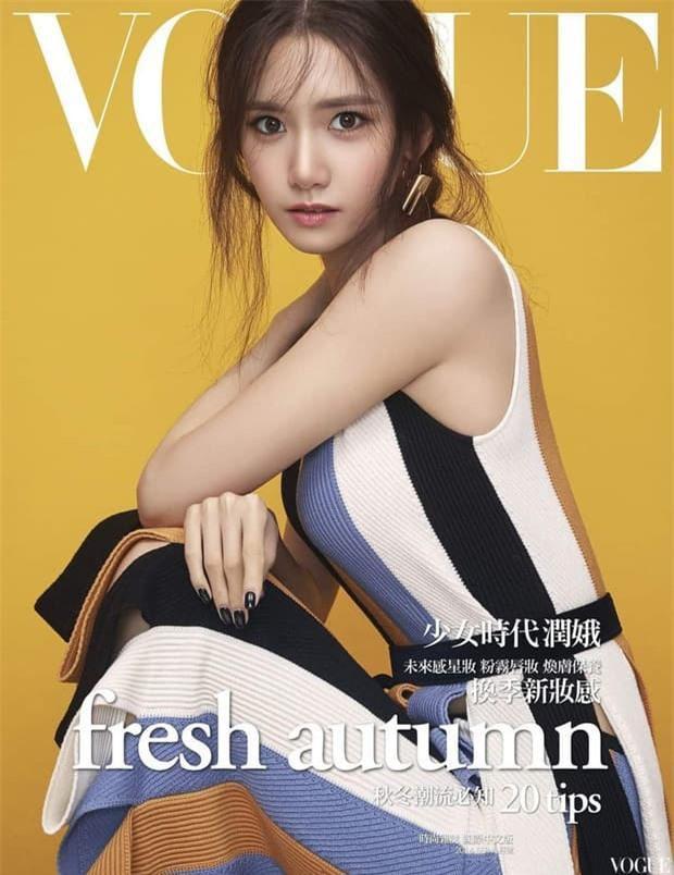 Yoona 'lồng lộn' lên 7 bìa tạp chí, nhưng fan 'la ó' vì đôi mắt 'trừng trừng' đánh bay vẻ đẹp 'nữ thần' Ảnh 3