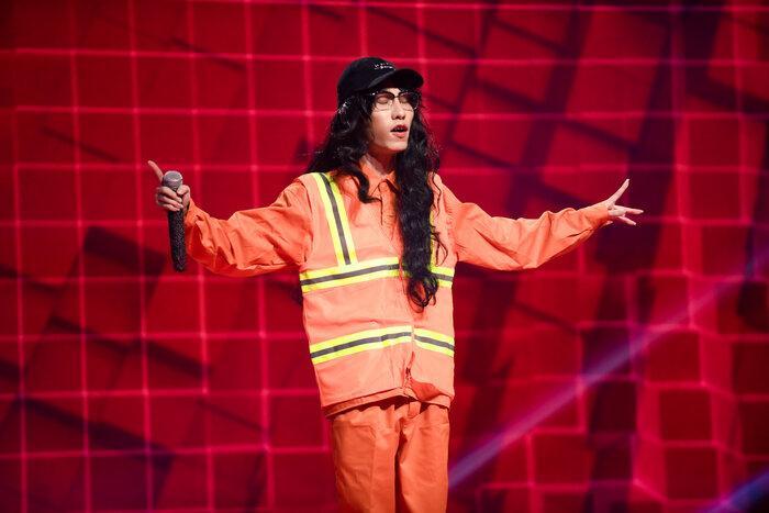 Chị Cả - CJAY battle căng đét nhưng chưa khét bằng màn dizz của DROPPY - Nhật Hoàng trong tập 6 King of Rap Ảnh 1
